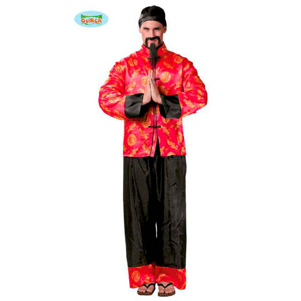 Disfraz Chino Mandarín para hombre