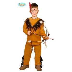Disfraz indio apache infantil