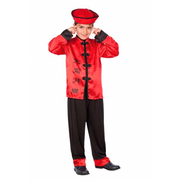 Disfraz chino mandarín de niño