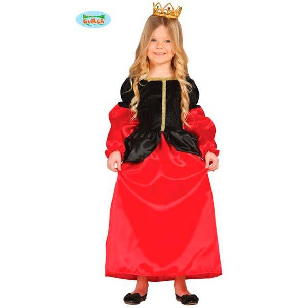 Disfraz cortesana medieval infantil