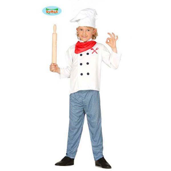 Disfraz pizzero niño