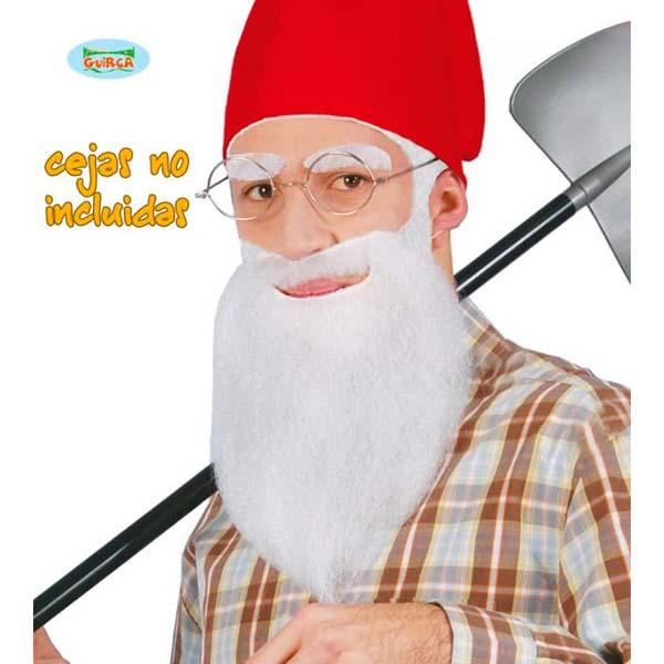 Barba blanca de enanito