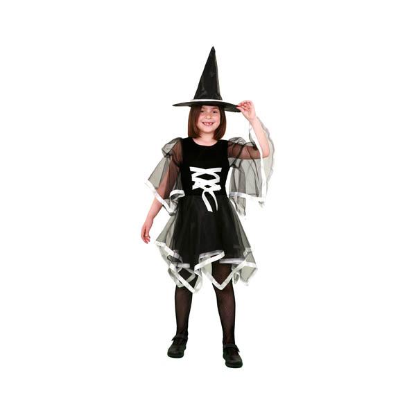 BT - Disfraz de bruja con lazo para niña