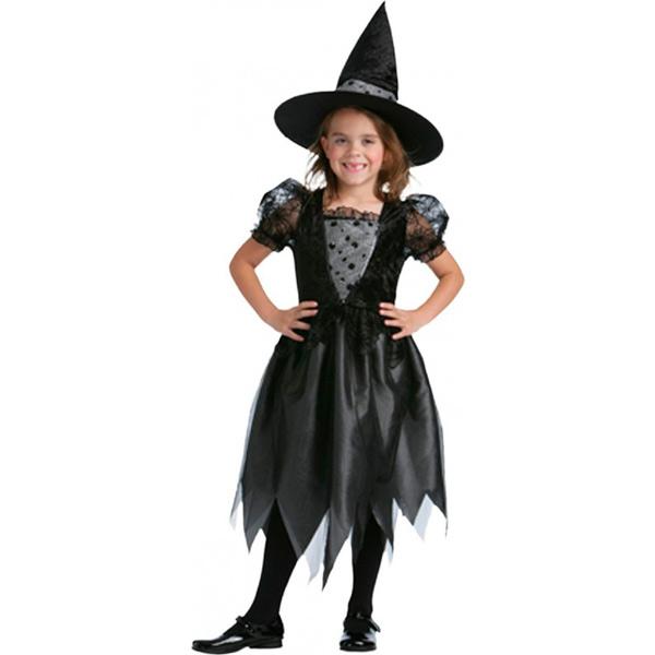 BT - Disfraz de bruja mágica para niña