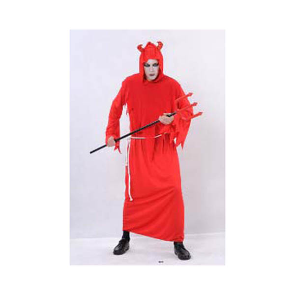 BT - Disfraz Diablo Rojo adulto