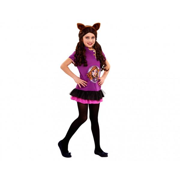 BT - Disfraz Gothic Wolf para niña