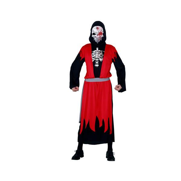 BT - Disfraz Esqueleto Muerte adulto