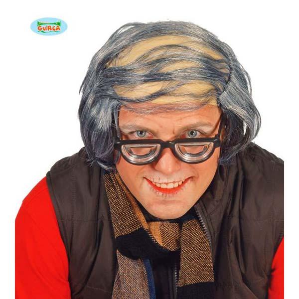 Calca de abuelo con pelo gris