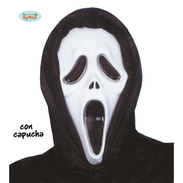 Careta de scream con capucha
