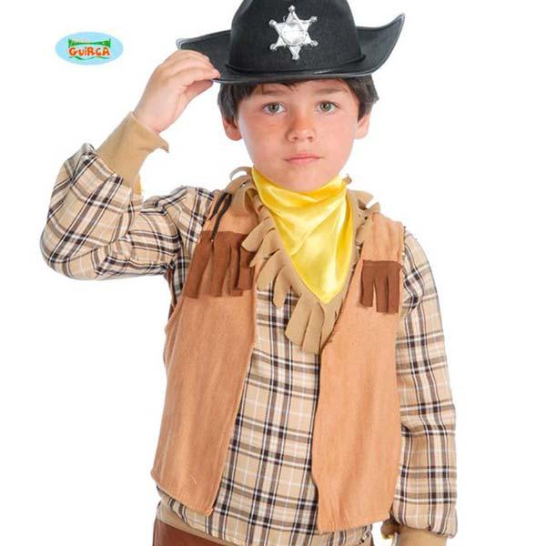 Chaleco de vaquero para niño