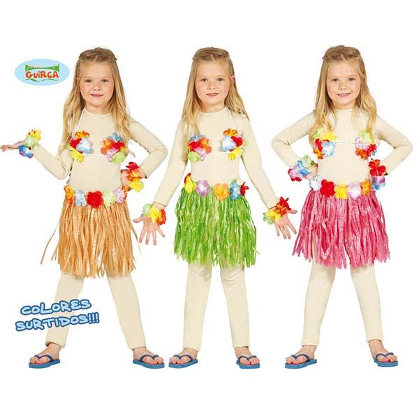 Conjunto hawaiano infantil