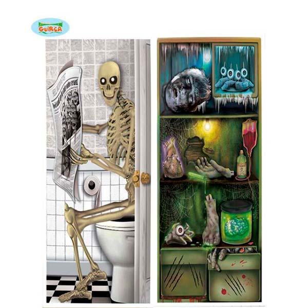 Cubre puertas y neveras de Halloween