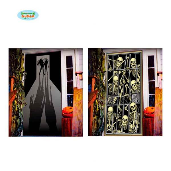 Decoración puerta de Halloween