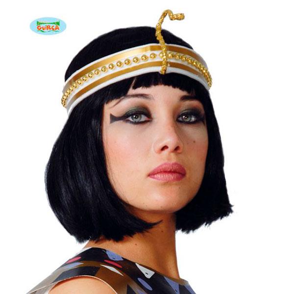 Diadema de Cleopatra de perlas dorada
