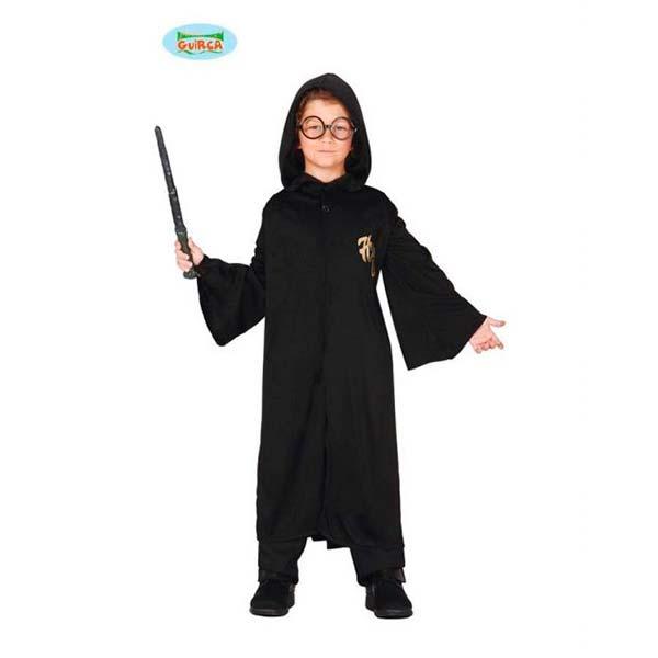 Disfraz aprendiz de mago para niño