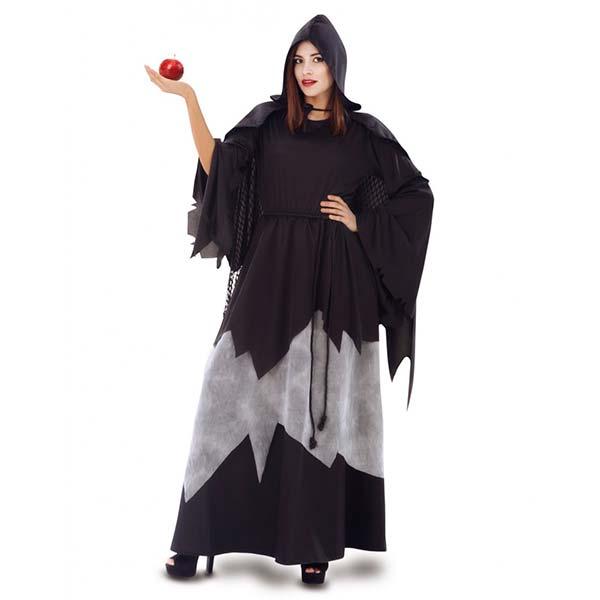 Disfraz bruja de Blancanieves para mujer