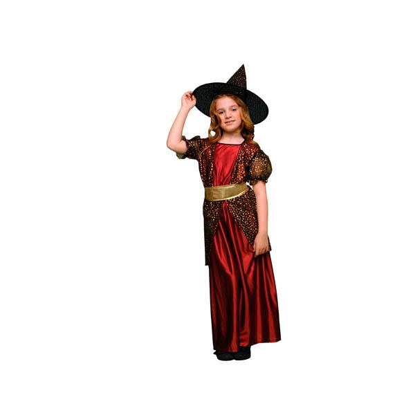 Disfraz de Bruja de las Estrellas para niña