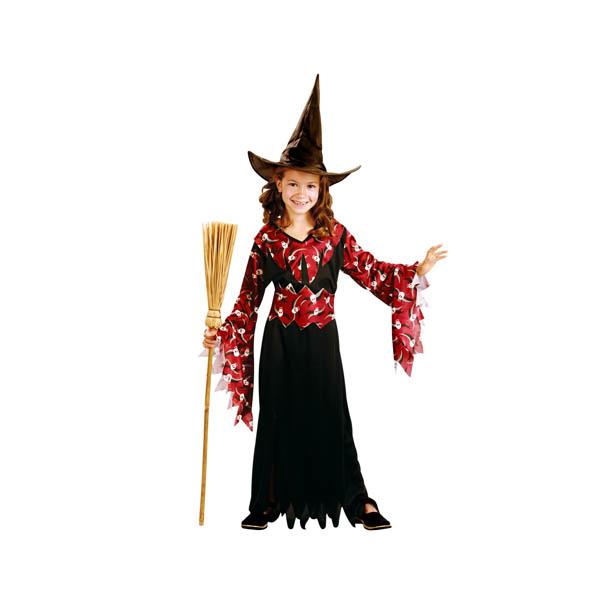 Disfraz de Bruja Granate para niña