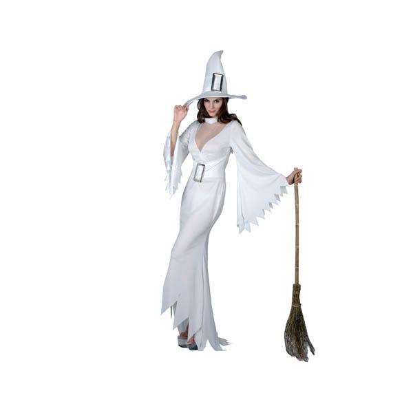 Disfraz bruja blanca