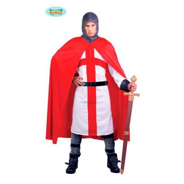 Disfraz de caballero cruzado para hombre
