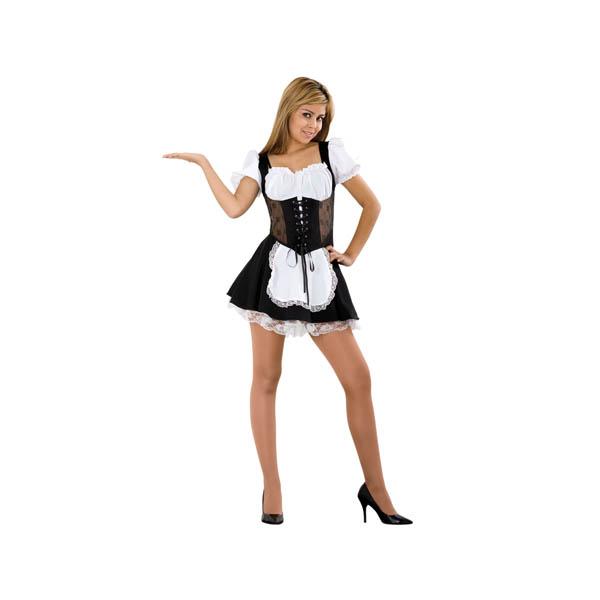 Disfraz de camarera sexy