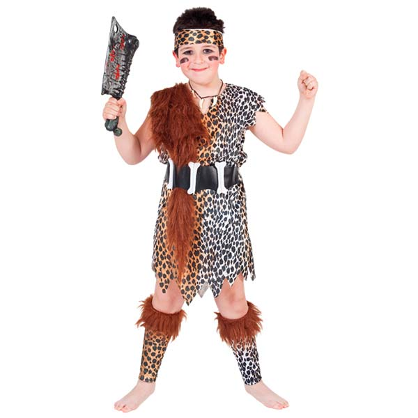 Disfraz cavernícola infantil
