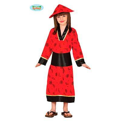 Disfraz china para niña