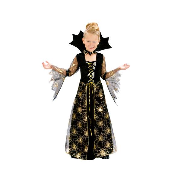 Disfraz de dama arácnida para niña