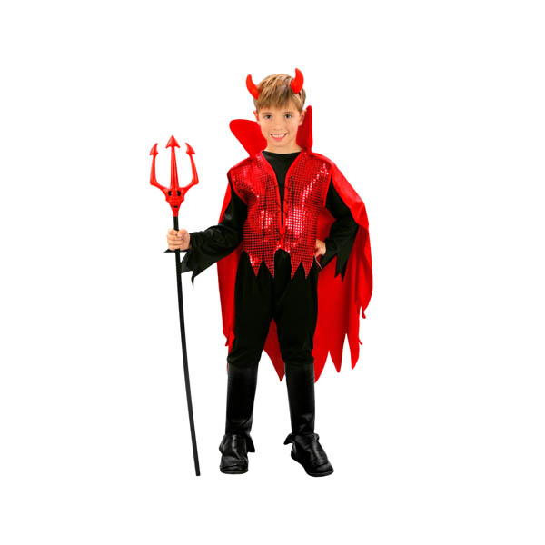 Disfraz de demonio rojo para niño