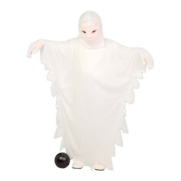 Disfraz de fantasma de sábana blanca