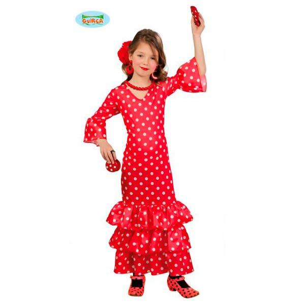 Disfraz flamenca para niña