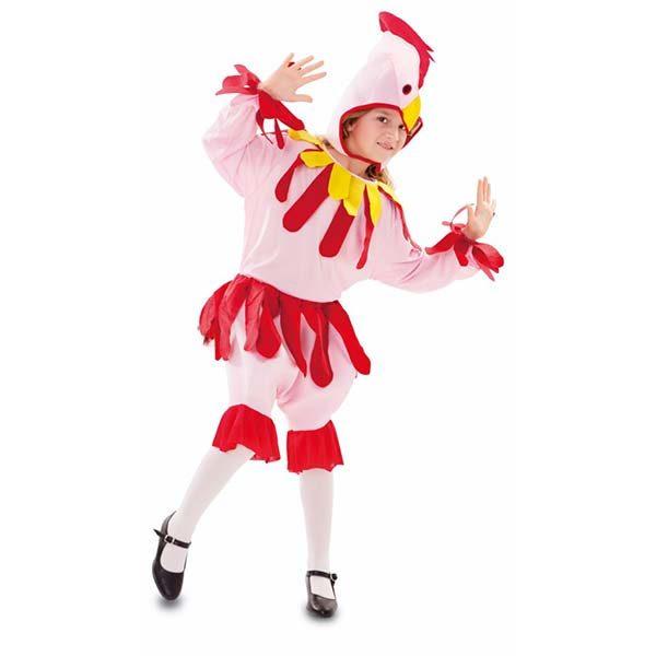 Disfraz gallina para niña