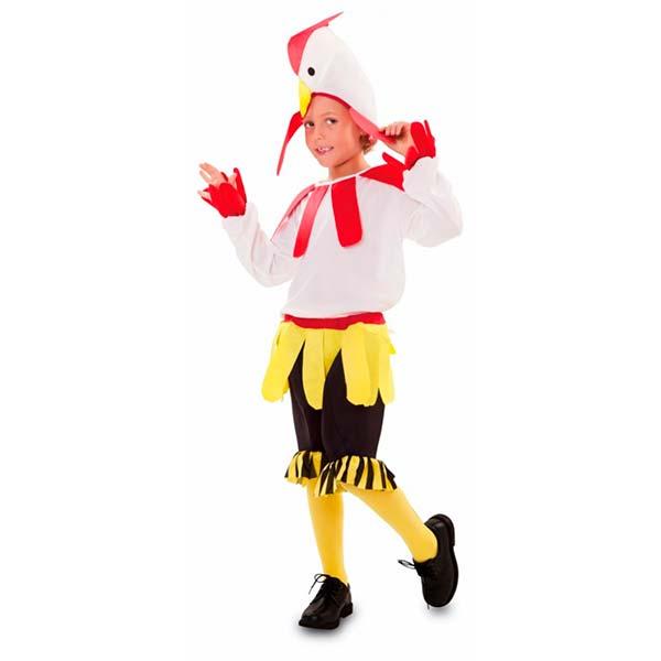 Disfraz gallo para niño