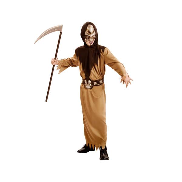Disfraz guerrero calavera para niño