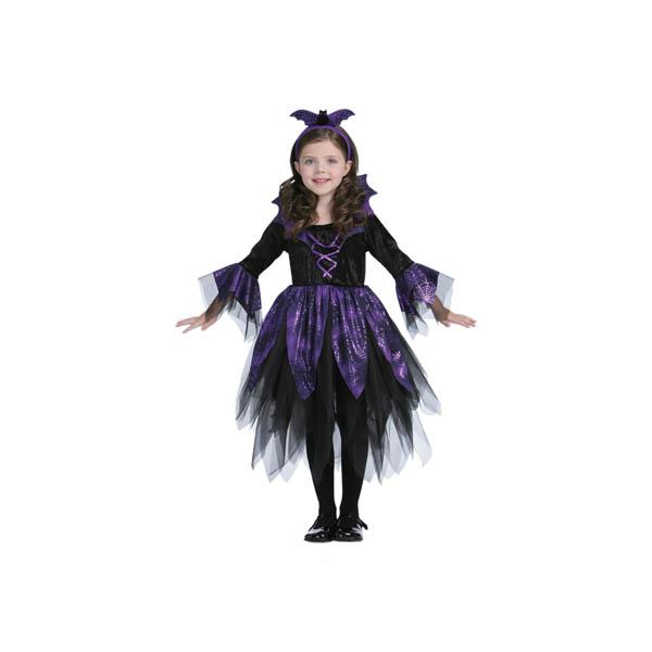 Disfraz Hada murciélago para niña