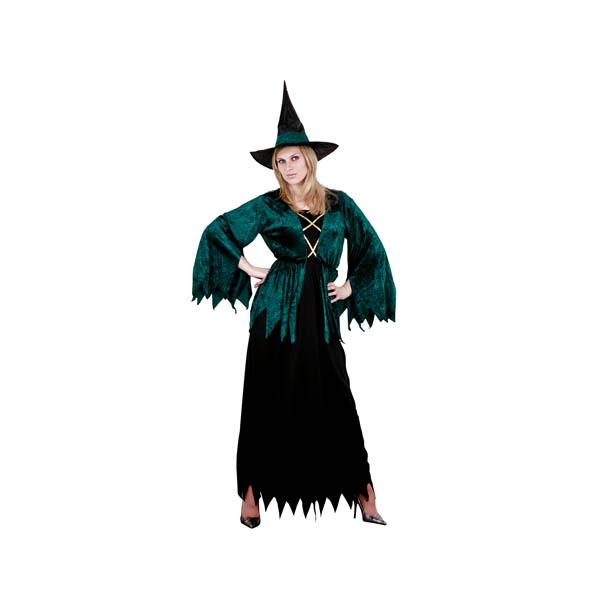 Disfraz de hechicera gótica para mujer