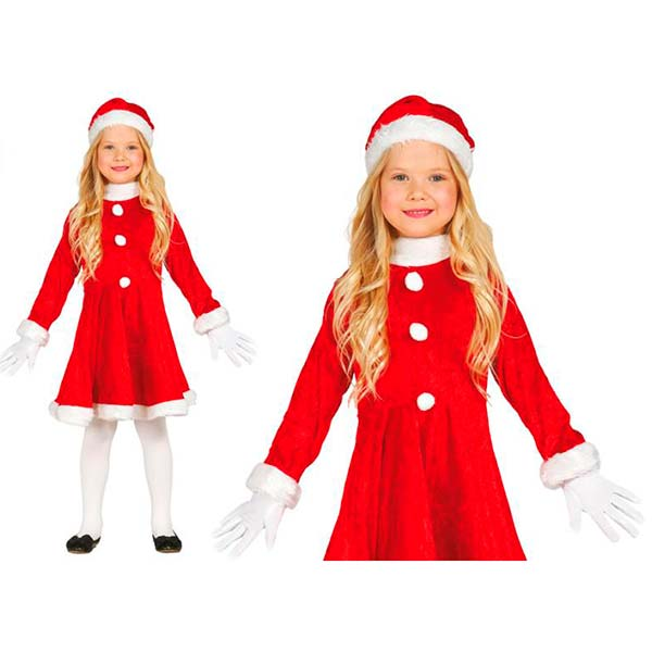 Disfraz de Mamá Noel infantil