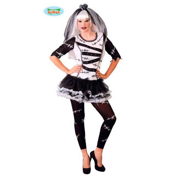 Disfraz de Monster Bride para mujer