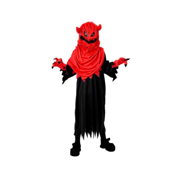 Disfraz de monstruo infernal para niño