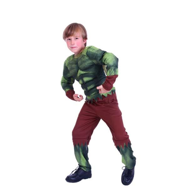 Disfraz monstruo verde para niño