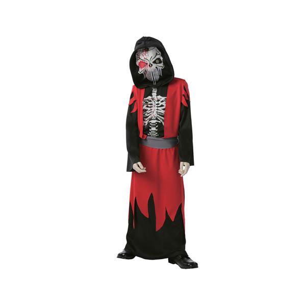 Disfraz Esqueleto de la muerte para niño