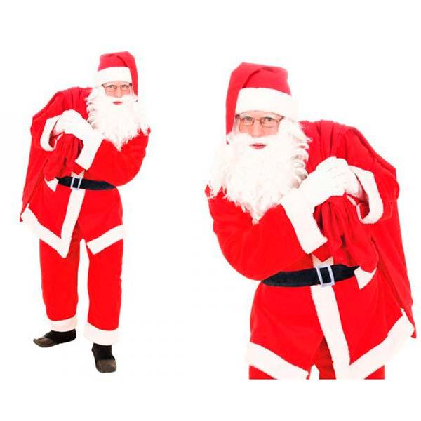 Disfraz de Papá Noel para adulto