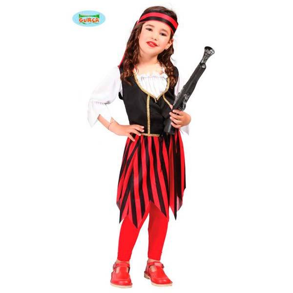 Disfraz de pirata o corsaria para niña