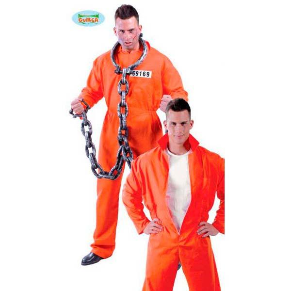 Disfraz de preso o convicto para hombre