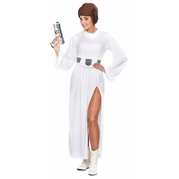 Disfraz de Princesa Leia para adulto