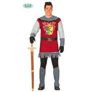 Disfraz príncipe medieval para hombre