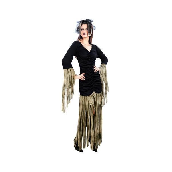 Disfraz de reina zombie para mujer