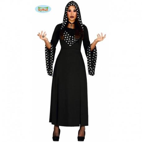 Disfraz sacerdotisa diabólica para mujer