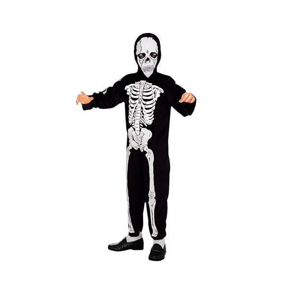 Disfraz de skeleton para niño