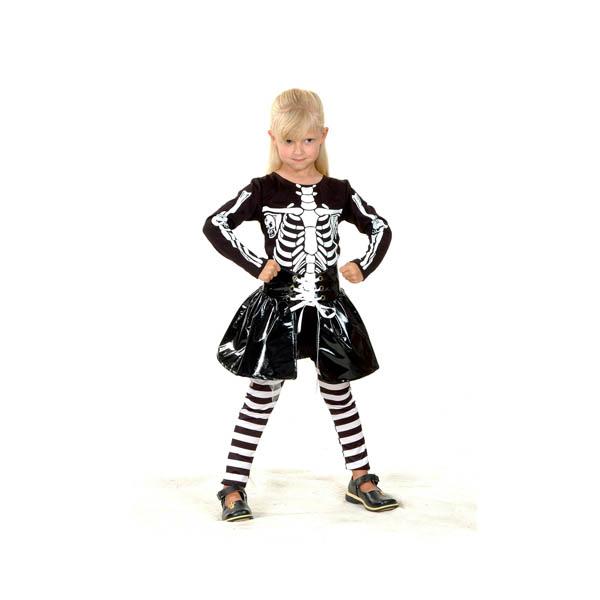 Disfraz de Skeleton Girl para niña